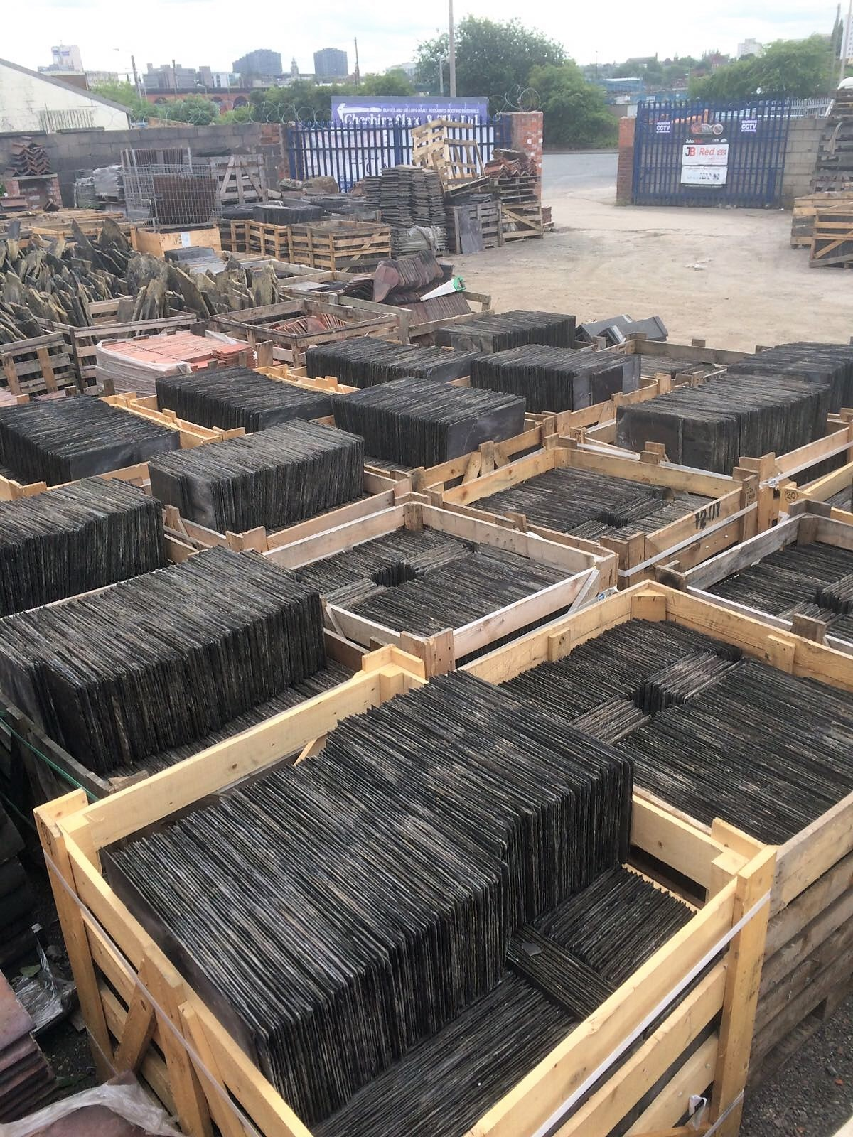 Our Yard Cheshire Slate Amp Tile Ltd Specialists In